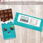 Shopkins Chocolate Bar New Little Man Candy Bar Label Hershey Chocolate Wrappers