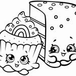 Shopkins Color Sheets Amazing Inspirational Black and White Cupcake Coloring Pages – Nicho
