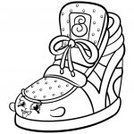 Shopkins Coloring Book Exclusive Cool Shoes Coloring Pages Awesome Shopkins Coloring Pages Coloring 3