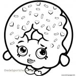 Shopkins Coloring Pages to Print Awesome Donut Coloring Page Unique Shopkin Coloring Pages Fresh Printable