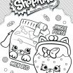 Shopkins Colouring Pages New Great Shopkins Picture to Color Also Shopkin Coloring Pages