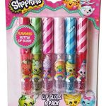 Shopkins Cupcake Wrappers Best Of Amazon Shopkins Flavored Glitter Lip Gloss 6 Pack Strawberry