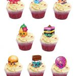 Shopkins Cupcake Wrappers Best Of Shopkins Cupcakes