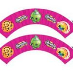 Shopkins Cupcake Wrappers Fresh 406 Best Cupcake Wrapper Images In 2018