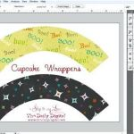 Shopkins Cupcake Wrappers Fresh Cupcake Paper Template 3d toy Money Gift – Blackampersand