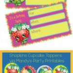 Shopkins Cupcake Wrappers Inspirational Free Printable Shopkins Invitations Inspirational Free Printable