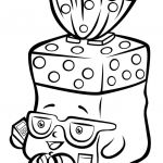 Shopkins Cupcake Wrappers New Shopkins Coloring Pages Cheeky Chocolate at Getdrawings