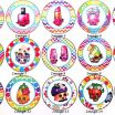 Shopkins Donna Donut Unique Shopkins Earringsshopkins theme Jewelry Kids Jewelry