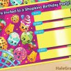 Shopkins Free Printables Excellent 91 Shopkins Birthday Invitations Free Download by Sizehandphone