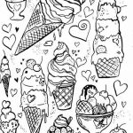 Shopkins Ice Cream Dream Exclusive Ice Cream Pastry Coloring Pages Print Coloring
