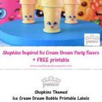 Shopkins Ice Cream Dream Inspirational 94 Best Party Shopkins Party Ideas Images In 2019