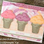 Shopkins Ice Cream Dream Wonderful Carrie Stamps August 2016