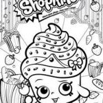 Shopkins Images to Print Inspiration Cupcake Queen Shopkin Coloring Pages Elegant Shopkin Coloring Pages