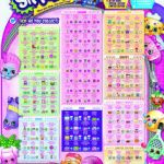Shopkins List All Seasons Best 34 Best Shopkins Checklist Images In 2018