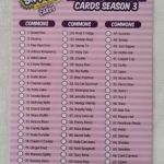 Shopkins List All Seasons Best Shopkins Season 3 Collector Card 79 Checklist Part 1