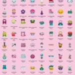 Shopkins List All Seasons Inspirational 34 Best Shopkins Checklist Images In 2018