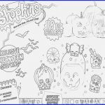 Shopkins Pumpkin Halloween Inspired 16 Halloween Coloring Pages Difficult