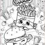 Shopkins Pumpkin Halloween Pretty Shop by Color Pics to Color and Print Coloring Book Pages to