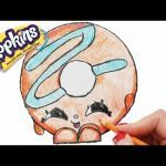 Shopkins Season 1 Lippy Lips Inspiration How to Draw Shopkins Season 1 Melonie Pips Step by Step Easy toy