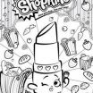 Shopkins Sneaky Wedge Inspiration Shopkins Sneaky Wedge Coloring Pages Luxury Coloriage Shopkins