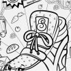 Shopkins Sneaky Wedge Inspired the Suitable Shopkins Coloring Book Famous Yonjamedia