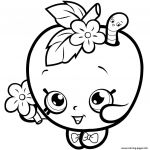 Shopkins to Print Amazing Beautiful Shopkins Apple Blossom Coloring Page – Doiteasy