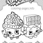 Shopkins to Print Brilliant tomatoes Coloring Pages