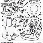 Shopkins to Print Creative Stunning Coloring Sheets to Print Picolour