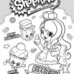 Shopkins to Print Marvelous Lovely Shopkin Coloring Page 2019