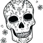 Simple Sugar Skull Coloring Pages Amazing Coloring Pages Of Flames – Reprom