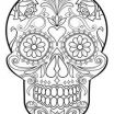 Simple Sugar Skull Coloring Pages Creative 79 Best Skull Coloring Pages Images In 2019