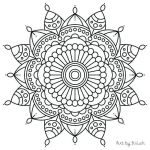 Simple Sugar Skull Coloring Pages Creative Printable Mandala Coloring Pages Easy Free Mandalas to Color for