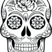 Simple Sugar Skull Coloring Pages Excellent Gryffindor Crest Coloring Page – Sharpball