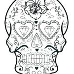 Simple Sugar Skull Coloring Pages Exclusive Skulls Coloring Pages – Vitalmethod