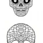 Simple Sugar Skull Coloring Pages Inspiration 25 Free Printable Skull Coloring Pages Collection Coloring Sheets