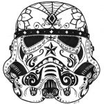 Simple Sugar Skull Coloring Pages Inspiration Luxury Star Wars Sugar Skull Coloring Pages – Kursknews