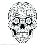 Simple Sugar Skull Coloring Pages Inspirational Skulls Coloring Pages – Vitalmethod