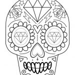 Simple Sugar Skull Coloring Pages Marvelous Coloring Page Day the Mandala Coloring Pages Copy Adult Skull