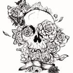 Simple Sugar Skull Coloring Pages Wonderful Coloring Page Incredible Sugar Skull Coloring Pages Page Awesome