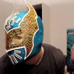 Sin Cara Masks for Kids Awesome Wwe Sin Cara Replica Maske Review Azul Mask [deutsch]
