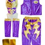 Sin Cara Masks for Kids Best Kid Costume Bo Sin Cara and Kalisto In Purple Color Masksports