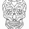 Skull Adult Coloring Pages Wonderful Hearts and Skulls Coloring Pages Luxury Dark Skull Color Awesome