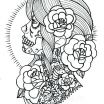 Skull Adult Coloring Pages Wonderful Sugar Skull Coloring Page Simple Skulls Sugar Skulls Coloring Pages
