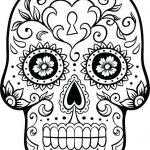 Skull Coloring Books for Adults Best Coloring Pages Sugar Skull Coloring Page Printable Pages to Print