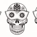 Skull Coloring Books for Adults Brilliant Coloring Ideas 60 Fantastic Sugar Skull Coloring Pages for Kids