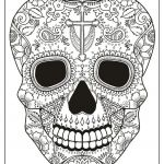 Skull Coloring Books for Adults Creative Halloween Coloring Book for Adults Spooky Halloween Printable
