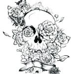 Skull Coloring Books for Adults Exclusive Simple Sugar Skulls – Homebeautiful