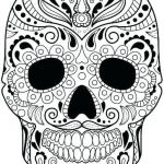 Skull Coloring Pages to Print Creative Skull Coloring Sheets Skull Coloring Sheets Girly Skull Coloring