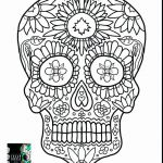 Skull Coloring Pages to Print Inspirational Coloring Ideas 60 Fantastic Sugar Skull Coloring Pages for Kids