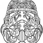 Skull Coloring Pages to Print Marvelous Luxury Star Wars Sugar Skull Coloring Pages – Kursknews
